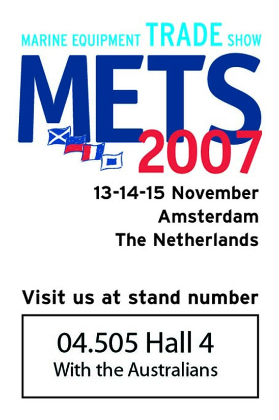Visit us at METS 2007